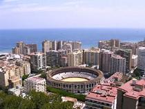 Views of Malaga City